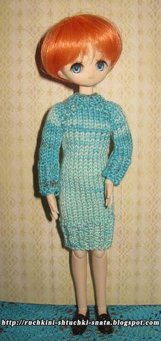 Ручкины штучки от SNata: Платье для Обитсу 21 см