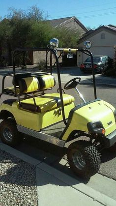 ***CUSTOM GOLF CART W/ CLEAN TITLE***