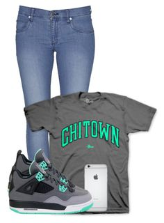 """CHITOWN"" by abullock100 ❤ liked on Polyvore featuring Cheap Monday"
