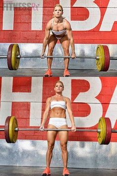 Libby DiBiase: Training for the CrossFit Games = Libby Shares Her Goals, Diet, and a Workout
