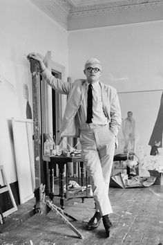 """""""A belief is like a guillotine, just as heavy, just as light."""" --David Hockney"""