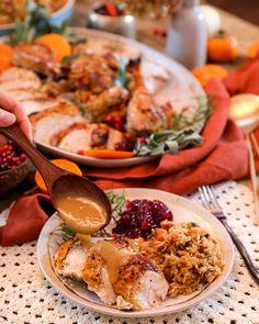 Cooked Turkey Recipes, Cooking Turkey, Chicken Recipes, Cooking Recipes, Asian Recipes, Healthy Recipes, Ethnic Recipes, Holiday Recipes, Dinner Recipes
