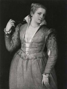 Tiziano Vecellio (Titian) Portrait of a Young Woman