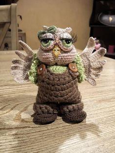 Olive the Owl - Crochet creation by SRO-AUSTIN