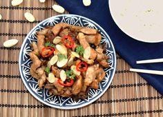 Čínské kuře s mandlemi a sojovou omáčkou - Ochutnejte svět Kung Pao Chicken, Ethnic Recipes, Food, Fine Dining, Meals, Yemek, Eten