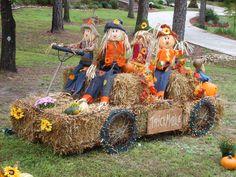 Fall Halloween, Halloween Crafts, Thanksgiving Decorations, Halloween Decorations, Fall Decorations, Fall Yard Decor, Autumn Display, Fall Projects, Fall Crafts