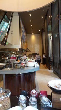 Breakfast at Glass Brasserie at the Hilton Sydney Hotel Sydney, Breakfast, Glass, Morning Coffee, Drinkware, Corning Glass, Yuri, Tumbler, Mirrors