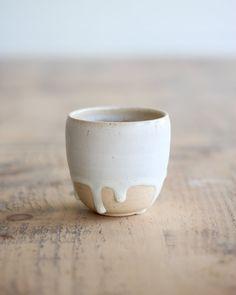 Carbis Yunomi I — Kara Leigh Ford Ceramics Stoneware Clay, Shop Signs, Handmade Pottery, White Ceramics, Dinnerware, Carving, Sea Foam, Kara, Glaze