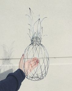 Wire pineapple