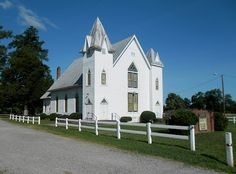 Grafton Baptist Church, Hartfield, Middlesex County, VA.