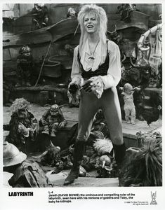 Labyrinth 1986, Jennifer Connelly, David Bowie, and Jim Henson muppets, what's not to like? David Bowie