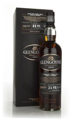 Winner of a Gold Medal at the San Francisco World Spirits Competition 2005, a single malt from Glengoyne matured in first fill European oak sherry casks for 21 years.