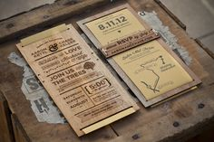 Wedding Invitation on the Behance Network