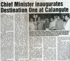 Destination One India launch featured in Gomantak Times.