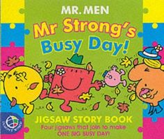 Mr. Strong's Busy Day! (Mr. Men & Little Miss Jigsaw Books) by John Malam, http://www.amazon.co.uk/dp/0749846437/ref=cm_sw_r_pi_dp_ITlhsb005913A