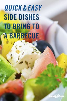 Need some hot or cold side options for barbeques and cookouts this summer? We've got ideas from fresh veggie salads to delicious baked beans.