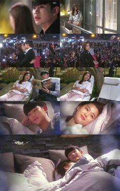 Good bye별그대ㅠㅡㅠ Do Min Joon♡Chun Song Yi. It was so happy to see you