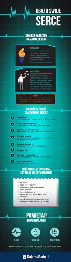 Choroby serca coraz częściej dotykają ludzi młodych i aktywnych zawodowo. Oto trzy główne przyczyny problemów. #dajemyrade