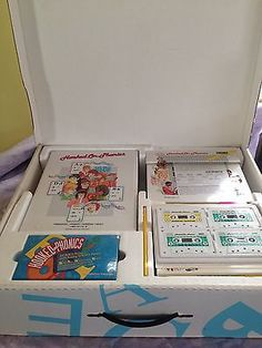 1993-HOOKED-ON-PHONICS-SRA-199-READING-POWER-PROGRAM-COMPLETE-SET-IN-BOX-Bonus