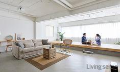 Home Furniture Livingroom Beds 32 Super Ideas Small Apartment Design, Home Office Design, Apartment Interior, Home Interior Design, Interior Architecture, Living Room Modern, Living Room Decor, Floor Design, House Design