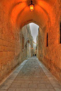 Malta - Medina streets