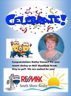 Congrats Kathy Yannes!