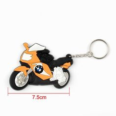 Mad Hornets - Keyring Keychain Key Chain Pendant Rubber Motorcycle Model Cool BMW Orange, $12.99 (http://www.madhornets.com/keyring-keychain-key-chain-pendant-rubber-motorcycle-model-cool-bmw-orange/)