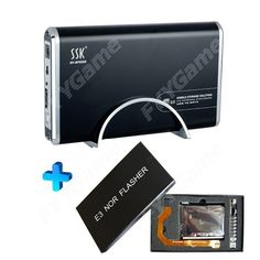 New 1T Portable HDD with 129 PS3 Games + E3 Nor Flasher + Get Free Gifts(DualShock 3 Wireless Bluetooth SIXAXIS Controller for PS3 + Silicone Protective Case for PS3 Controller)-Video Games-Jailbreak & Games HDD-www.egamechina.net