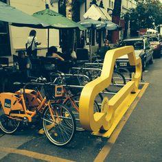1 car = 10 bikes ! U