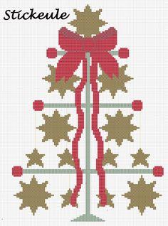 Points de croix *<3* Cross stitch Stikeule
