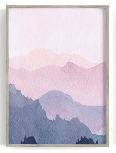 Watercolor Walls, Watercolor Trees, Simple Watercolor, Tattoo Watercolor, Watercolor Animals, Watercolor Background, Mountains Watercolor, Watercolor Artists, Watercolor Portraits