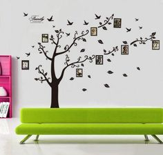 huge family tree wall vinyl, great deal, amazon deals. wall decals, vinyl wall sayings, gift ideas