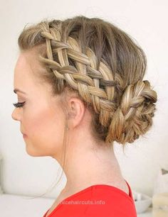 15 Braided Updos for Long Hair 15 Braided Updos for Long Hair http://www.nicehaircuts.info/2017/06/15/15-braided-updos-for-long-hair/