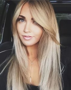 5 Easy Long Bangs Hairstyles for you in 2019 : Have A Look! 5 Easy Long Bangs Hairstyles for you in Hairstyles With Bangs, Straight Hairstyles, Cool Hairstyles, Long Fringe Hairstyles, Beautiful Hairstyles, Wavy Hair, Blonde Hair, Hair Cuts For Long Hair With Bangs, Long Bangs