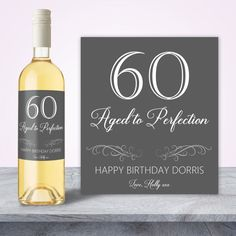 60th Birthday Gift For Women By SpecialLittleThought Decorations 80th Gifts