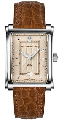 Cuervo y Sobrinos Watch Prominente 135 Anniversary #add-content #bezel-fixed #bracelet-strap-alligator #brand-cuervo-y-sobrinos #case-depth-8-6mm #case-material-steel #case-width-32-x-43mm #date-yes #delivery-timescale-call-us #dial-colour-cream #discount-code-allow #gender-mens #limited-edition-yes #luxury #movement-automatic #new-product-yes #official-stockist-for-cuervo-y-sobrinos-watches #packaging-cuervo-y-sobrinos-watch-packaging #style-dress #subcat-prominente…