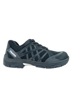Calzado de seguridad Argos con cordones y diseño deportivo. Es muy transpirable y a la vez hidrófugo. Tiene plantilla antiperforación téxtil y suela triple densidad es de caucho nitrilo y poliuretano y es resistente, estable y de gran confort. Tiene puntera plástica Fiberplast de 200J. #MasUniformes #RopaLaboral #UniformesDeTrabajo #VestuarioOnline #Zapatos #CalzadoLaboral #ZapatosDeSeguridad  #Panter