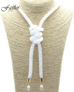 2017 Brand Crystal Necklace Long Sweater Chain Necklaces Women Choker Necklace for Party chokers