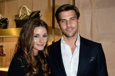 Olivia Palermo and Johannes Huebl attend 'Chloe Attitudes' book launch celebration cocktail as part of show as part of the Paris Fashion Week Womenswear Spring/Summer 2014 on September 27, 2013