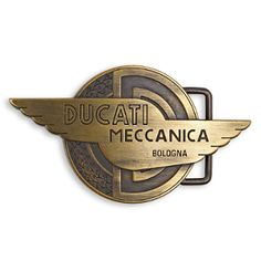 Ducati.   Belt buckle for the wolowits collection