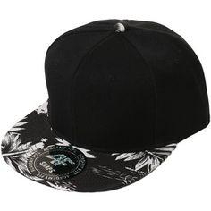 b6b71c6079b Hip Hop Hipster Floral Paisley Snapback Hat Black Snapback