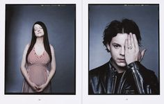 Jack & Meg White. By Dan Winters