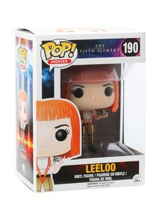 Leeloo is given a fun, and funky, stylized look as an adorable collectible vinyl figure!