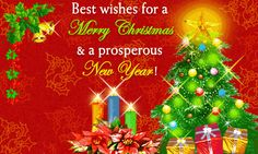 "This post contains some of the best collection of ""Christmas And New Year Wishes For Friends"". Wish you all going to like these all quotes, pictures, images for Merry Christmas celebrations."