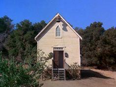 Little House on the Prairie schoolhouse!