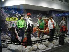 Salewa. Decorado By Creation Vetrina