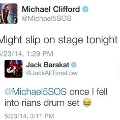 Aww jack! I can see that happening...Pin under All Time Low or 5sauce?? Decisions decisions decisions