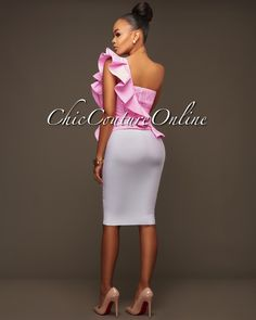 Chic Couture Online - Chaser Baby-Pink Gingham Print Ruffle Luxe Top, (http://www.chiccoutureonline.com/chaser-baby-pink-gingham-print-ruffle-luxe-top/)