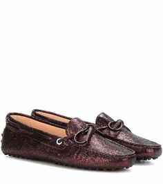 mytheresa.com exclusive Heaven New Laccetto metallic leather loafers | Tod's