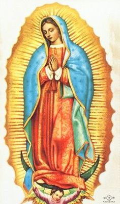 Our Lady of Guadalupe Custom Prayer Card